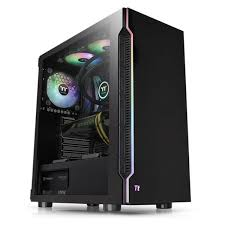 GABINETE THERMALTAKE H200 BLACK TEMPERED GLASS RGB