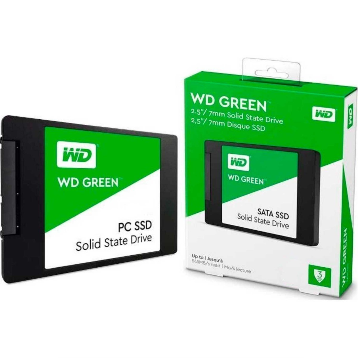 SSD 480 GB WD GREEN