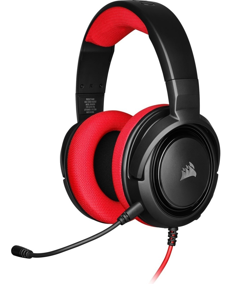 AURICULAR CORSAIR HS 35 RED